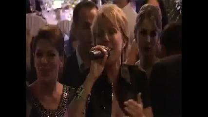 Lepa Brena - Crne kose Uzivo (seka Aleksic&veljko Piljkics wedding)