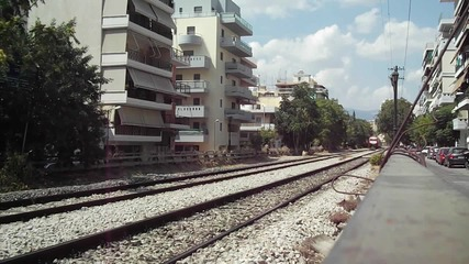 Гръцки бърз влак Солун - Атина
