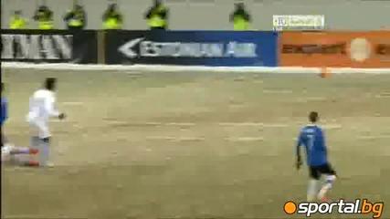 Естония - Уругвай 2 - 0