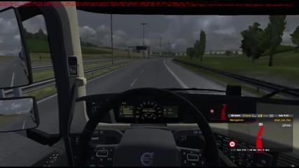Euro truck simulator 2 Multiplayer Timelapse