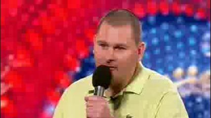 Paul Hunn - Britains Got Talent 2010