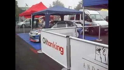 Подготовка на автомобилите на писта Бургас 2