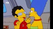 Семейство Симпсън - 13 сезон, еп. 10 - Хоумър продава Мардж на Арти