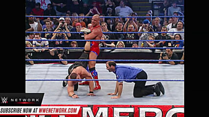 Kurt Angle forces John Cena to submit: WWE No Mercy 2003