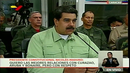 Venezuela: Maduro announces closing the border with Brazil