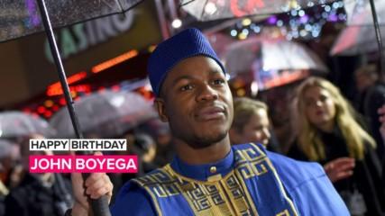 John Boyega being John Boyega for 2 minutes straight