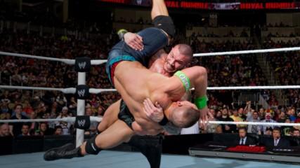 Randy Orton vs. John Cena – WWE World Heavyweight Title Match: Royal Rumble 2014 (Full Match)