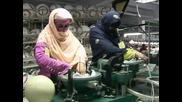 Пакистан - лидер в производството на футболните топки Южна Африка