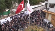 Turkey: Protesters rally for journalists arrested over Syria smuggling reports