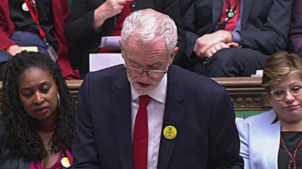 UK: May and Corbyn lock horns in heated Brexit debate