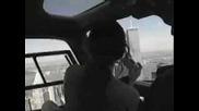 Нло се разминава с хеликоптер