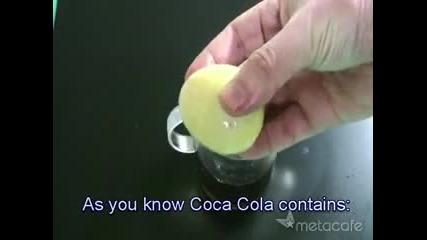 Трик С Яйце и Coca - Cola