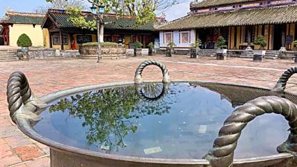 Хуе-старата имперска столица на Виетнам, 24-25 януари 2019 год.