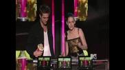 Best Kiss - Robert Pattinson and Kristen Stewart (robsten) - Mtv Movie Awards 2010