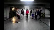 U - Kiss dance in parking I Like