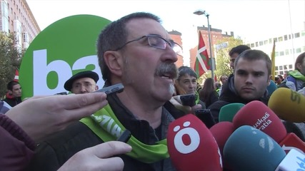 Spain: Thousands march for Basque independence