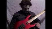 leatherface plays guitar
