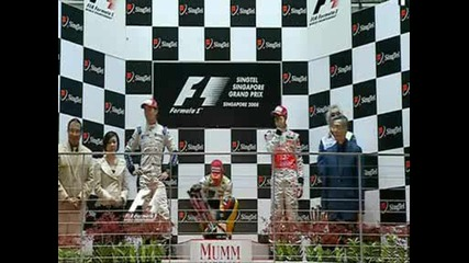 Fernando Alonso Winner First Road In Singapore