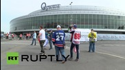Czech Republic: Russia faces US in World Hockey Championship semi-finals