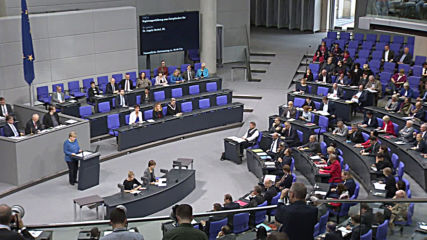 Germany: Merkel talks Brexit, Turkey's Syria offensive in Bundestag address