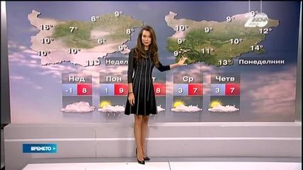 Прогноза за времето (18.01.2015 - сутрешна)