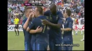 Евро 2012 : Франция 1 - 1 Англия ( Великолепен гол от далечно разстояние на Самир Насри във 39' мин)