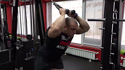 Разгъване с въже зад главата - Атанас Николаев