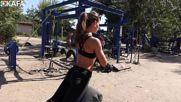Hot Couple Workout outdoor gym motivation In Ukraine Fitness Film Yonetmen 2016 Hd