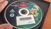 Българското Dvd издание на Алиса в страната на чудесата 1951 Александра видео 2004