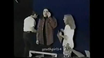 Майкъл Джексън - уловени мигове..