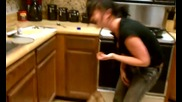 Ash attempting _the worst thing ever_ the cinnamon challenge