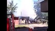 Пожар в кв. Красна поляна, София, 14.06.2009, 3