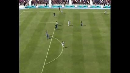 Fifa12 - Прехвърлащият удар на Рамиреш + Бг Коментар