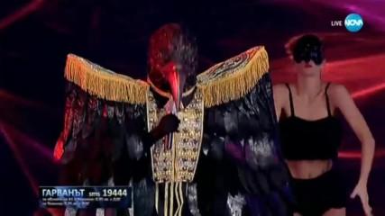 Гарванът изпълнява Proud Mary на Tina Turner | Маскираният певец