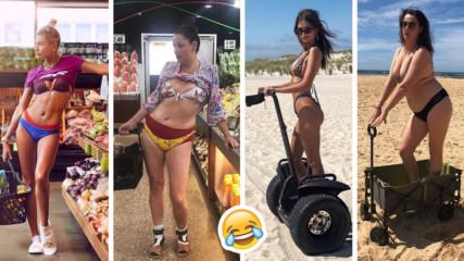 Смях на чужд гръб: Австралийка с култови пародии на Instagram звезди!