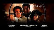 Трейлъри на филмите: Рамбо: Първа Кръв (1982), Законът на Картър (2000)...
