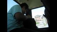 базикане с кондукторката в автобуса във варна номер 409 на милка
