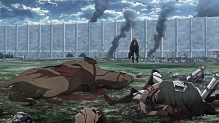 Attack on Titan Season 3 Episode 17 [ Бг Субс ] Вградени