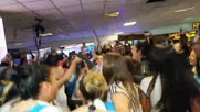 Argentina: Fans welcome team home after Women's WC exit