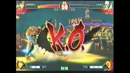 Sf4oraragi (za),  Koide (ryu) vs Dosa (ry),  Hamaa (sa) - Sbo 2009 Qualifiers
