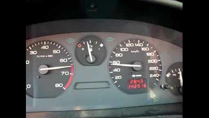 Peugeot 406 0 - 100 km/h