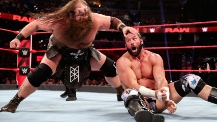 Zack Ryder & Curt Hawkins vs. The Viking Raiders: Raw Reunion, July 22, 2019