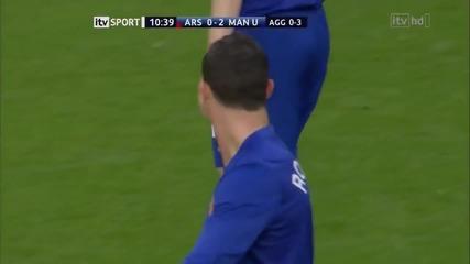 Роналдо зашеметява Арсенал и най - вече Алмония !