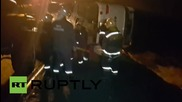 Russia: At least 7 dead, 35 injured after bus overturns near Tula, Russia
