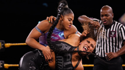 Rhea Ripley vs. Bianca Belair: WWE NXT, Oct. 23, 2019