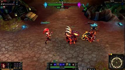 Wildfire Zyra League of Legends Skin Spotlight