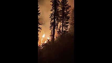 USA: Dixie Fire continues to rage on in California