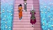 Vegeta & Goku Vs Whis [revival of F]