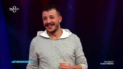 Ahmet Parlak - Isyan '' O Ses Turkiye '' 2015 / Duet: Ebru Gundes /