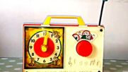 Hickory Dickory Dock Nursery Rhyme Classic Childrens Song Music 1971 Fisher Price Toysvia torchbrows